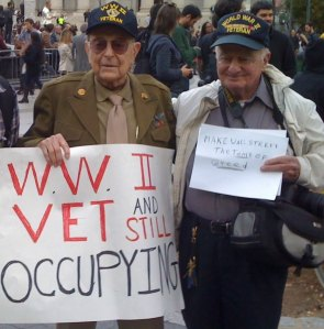 Veterans Veterans Stand Up For Liberty: If You Continue To Assemble In Peace And Solidarity, Justice Will Come To Pass